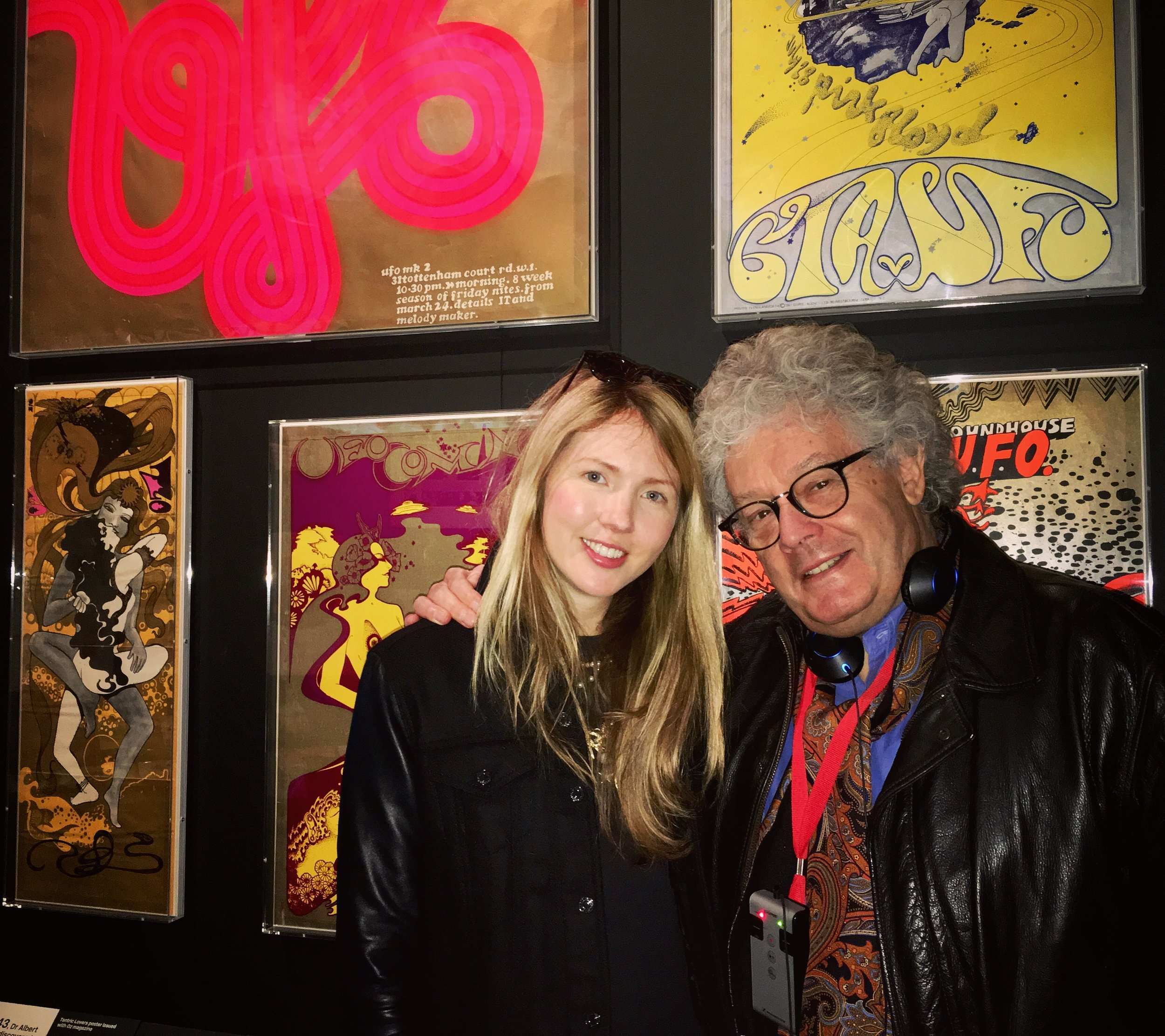 Nigel Waymouth & Beatie Wolfe at the V&A