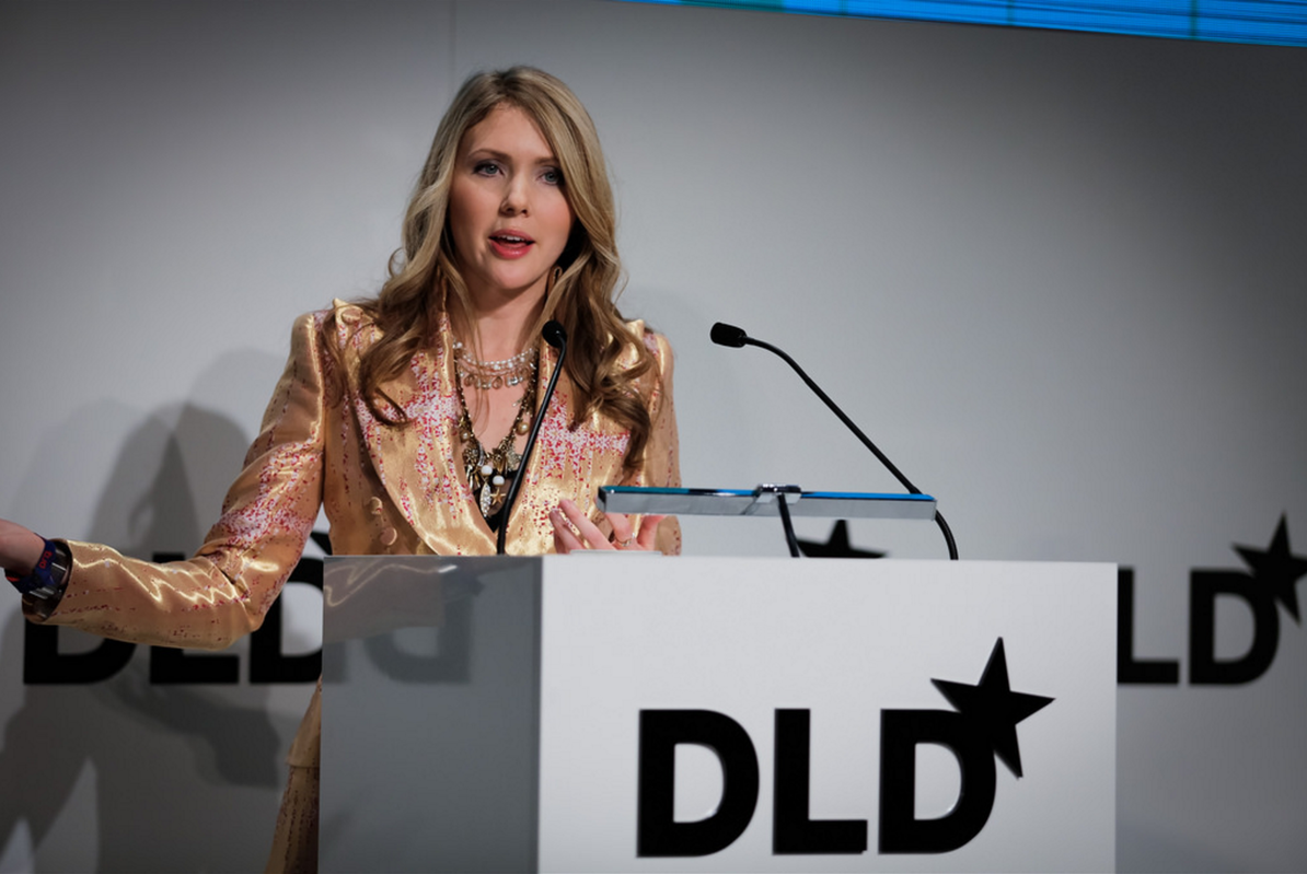 Beatie Wolfe speaking at DLD'16