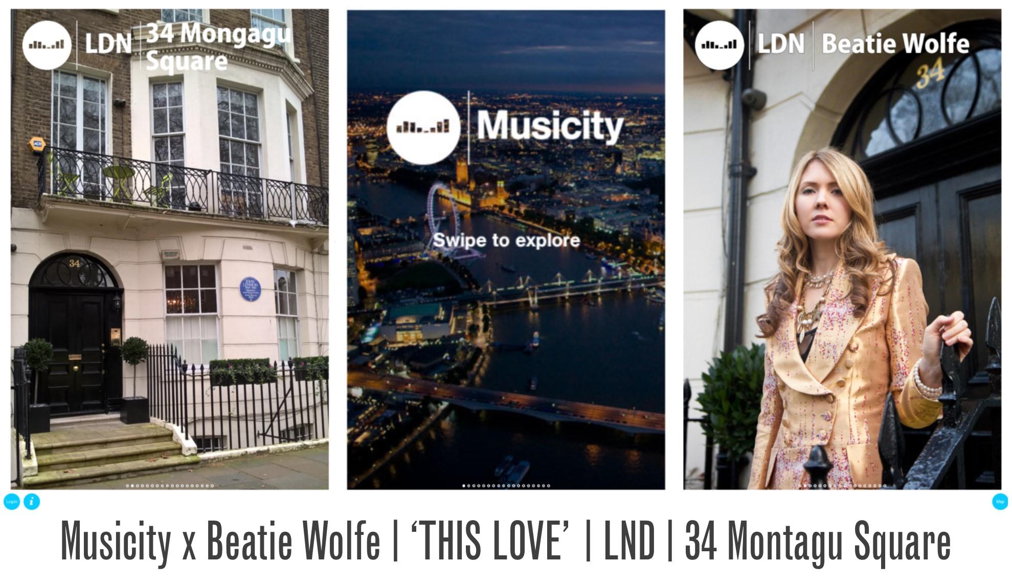 Musicity LND - Beatie Wolfe x 34 Montagu Square
