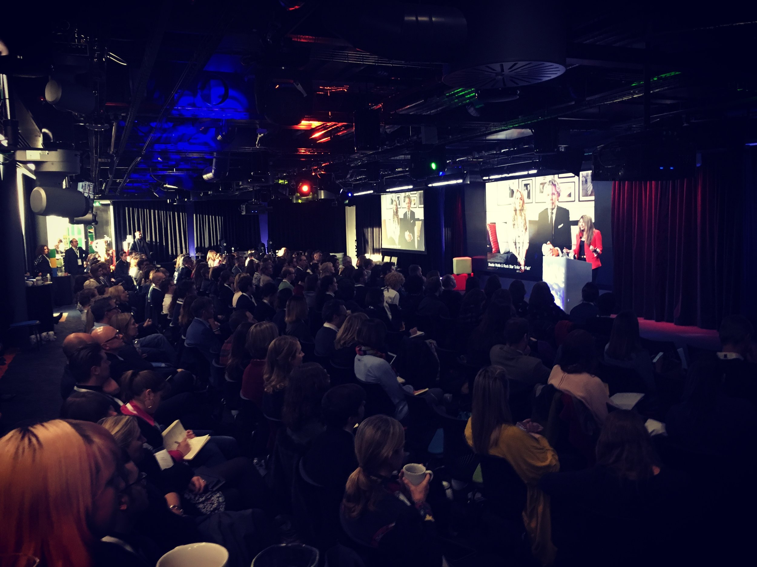 Beatie Wolfe speaks about 'The Art of Music' at Google HQ
