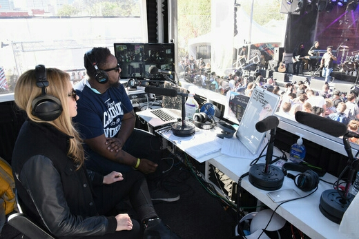 Beatie Wolfe and Phonte live streaming in the Pandora SXSW live stream