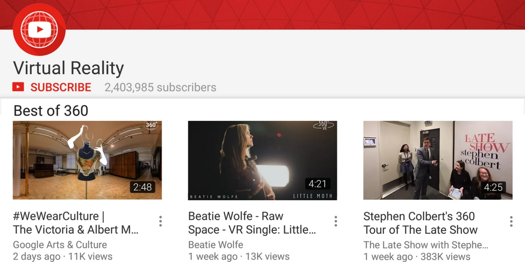 YouTube Feature Beatie Wolfe Raw Space in Best Of