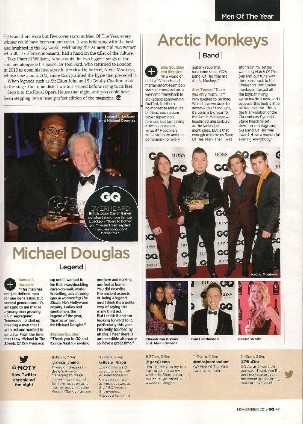 GQ Magazine (MOTY Special) November 2013