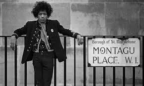 Jimi Hendrix on Montagu Place