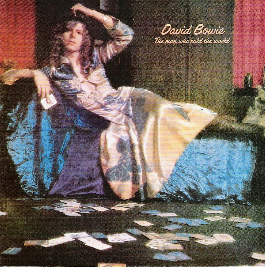 David Bowie in Mr Fish on origional cover of Man Who Sold the World.jpg