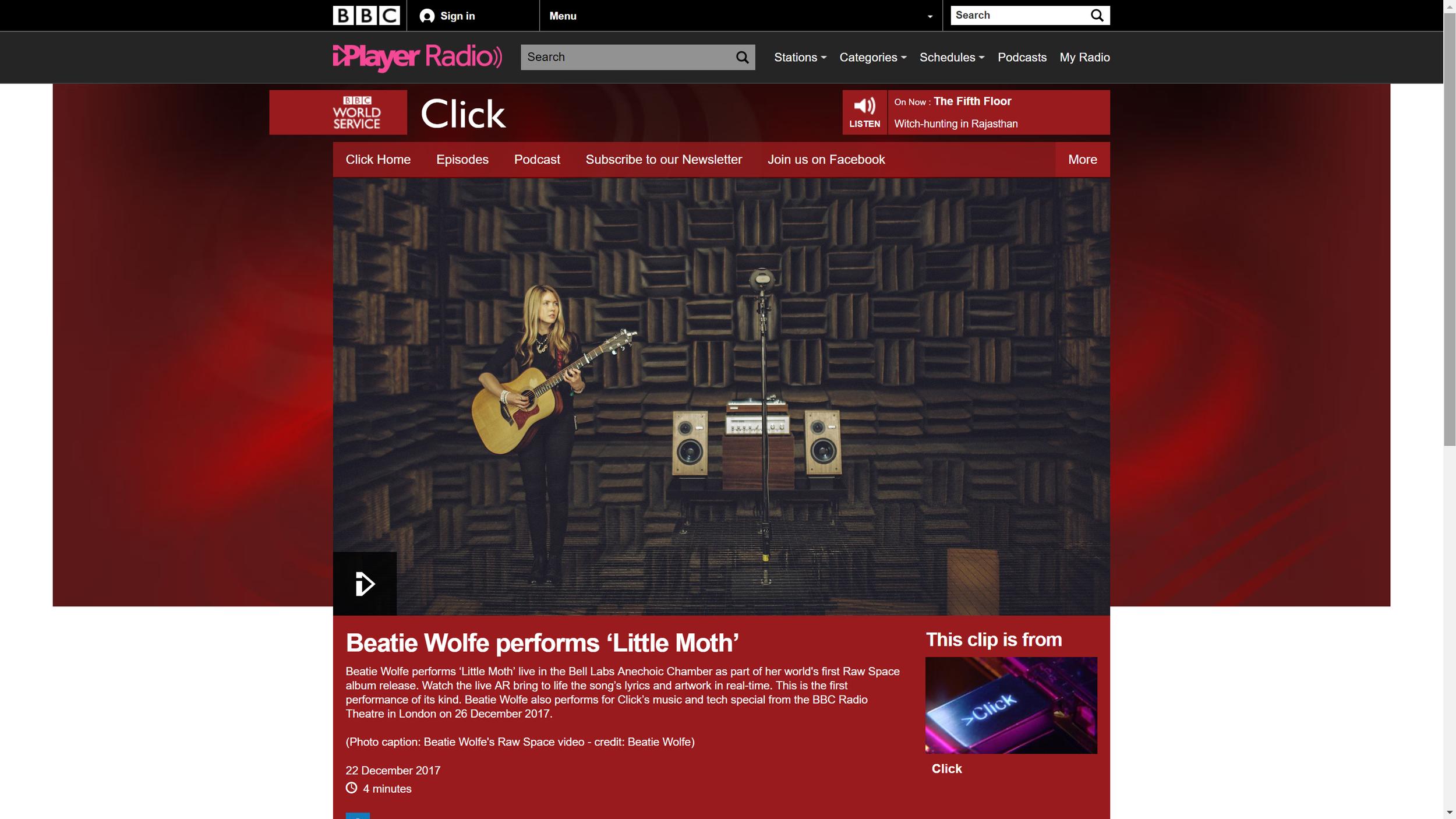 BBC Worldwide Website