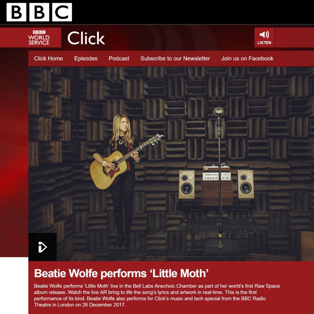 BBC World Service - Beatie Wolfe performs 'Little Moth'