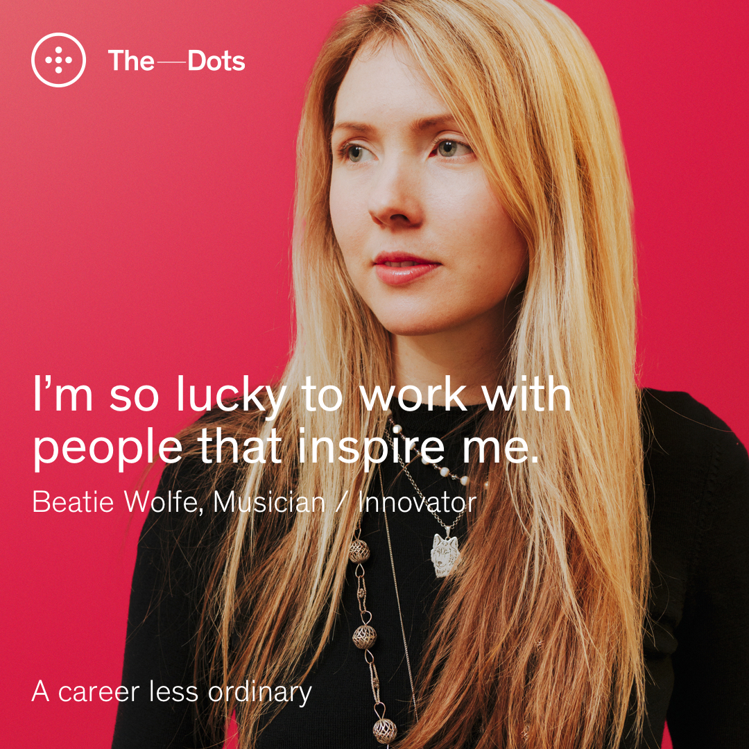 The Dots feature Beatie Wolfe