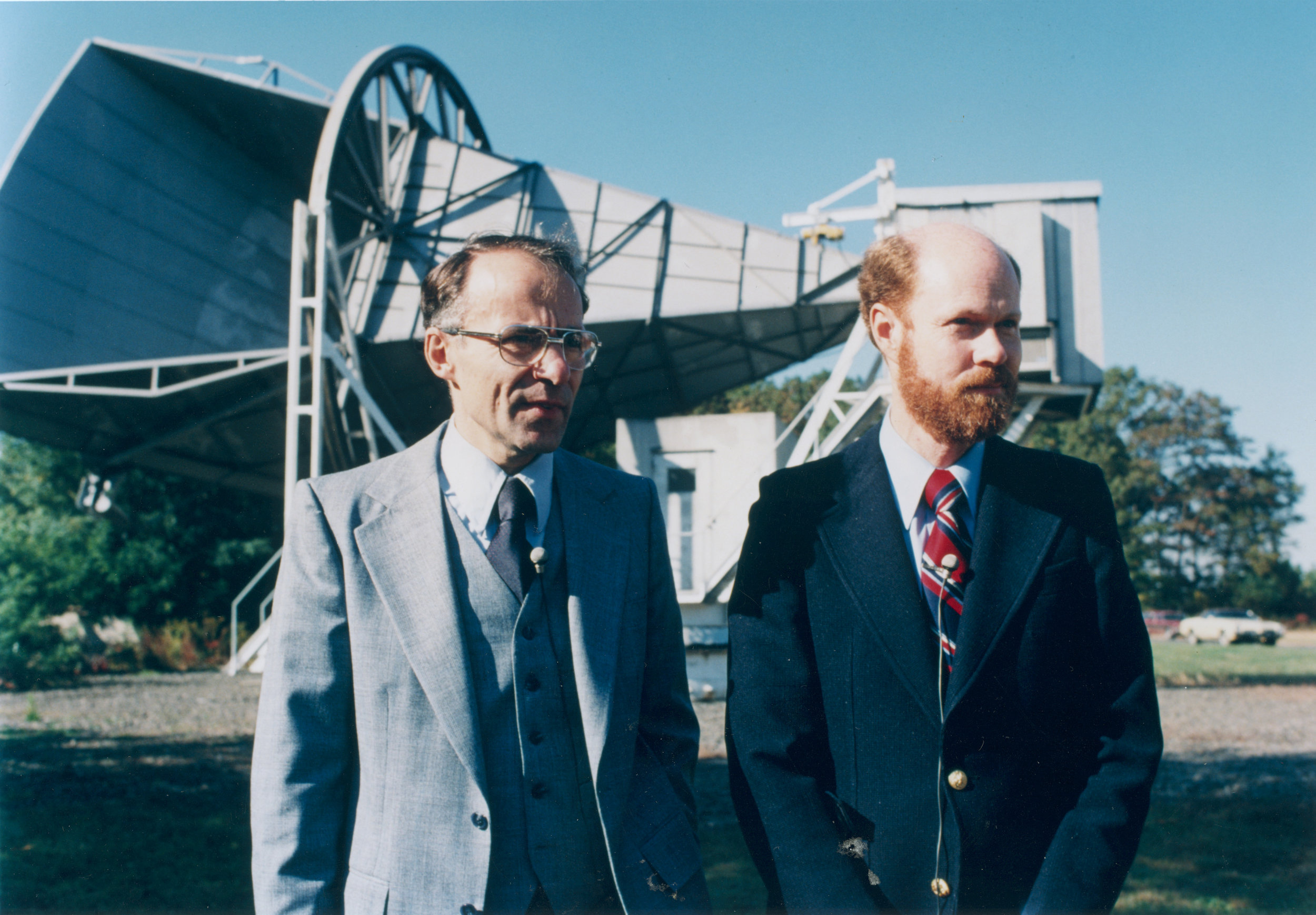 Penzias and Wilson Antenna 1970's