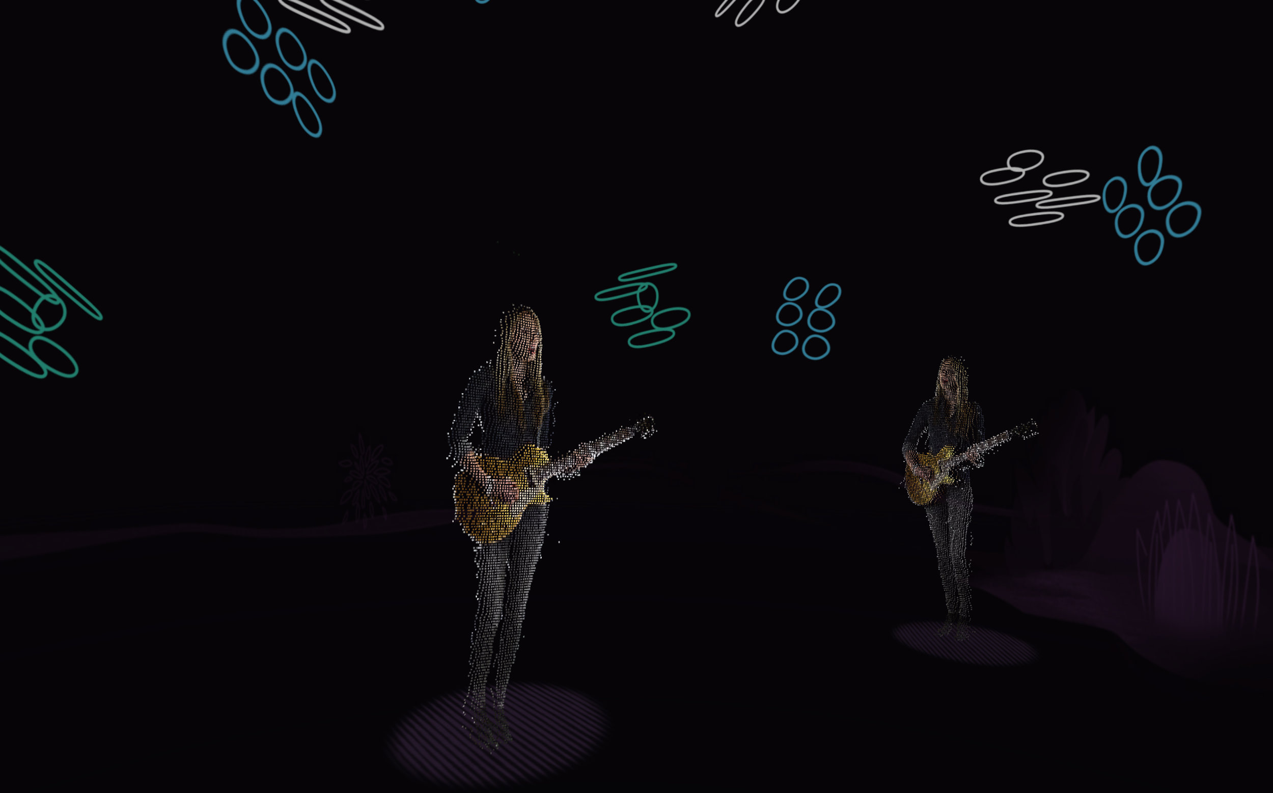 Beatie Wolfe - 2017 Raw Space - Oh Darling - live AR Capture (Design IO)