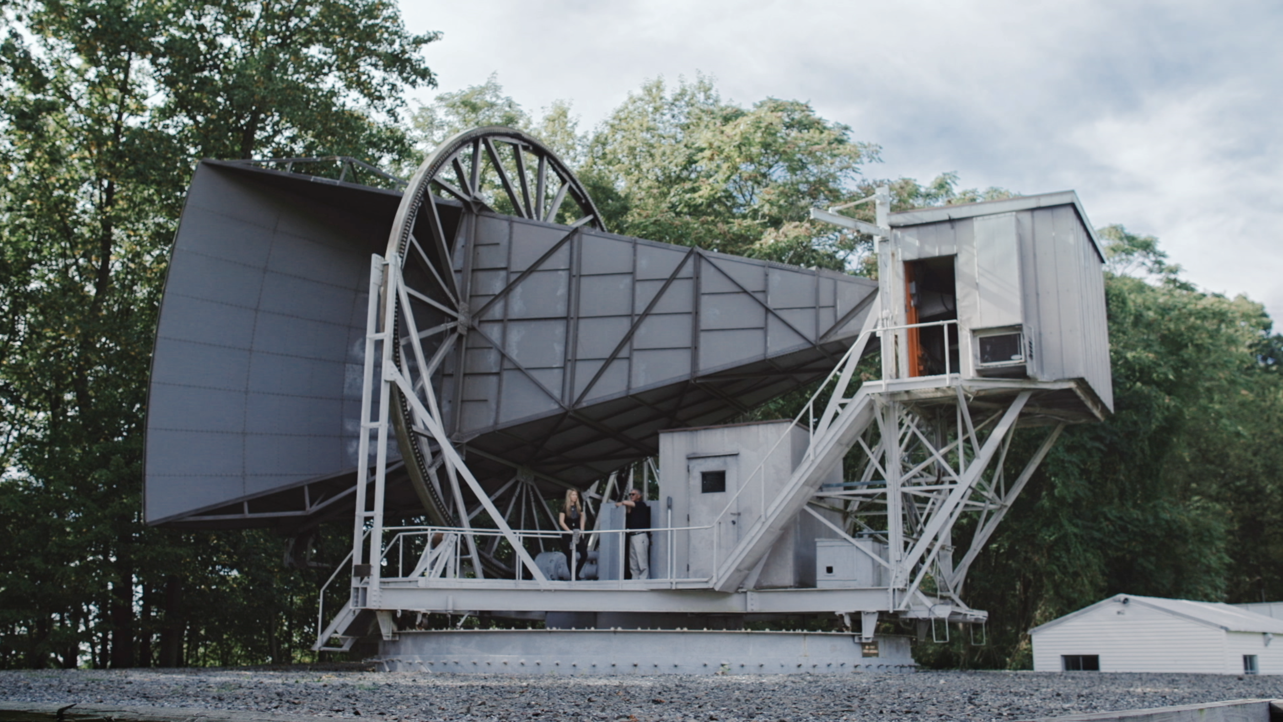 Beatie Wolfe - 2018 Raw Space Beam - Bell Labs Holmdel Horn Antenna
