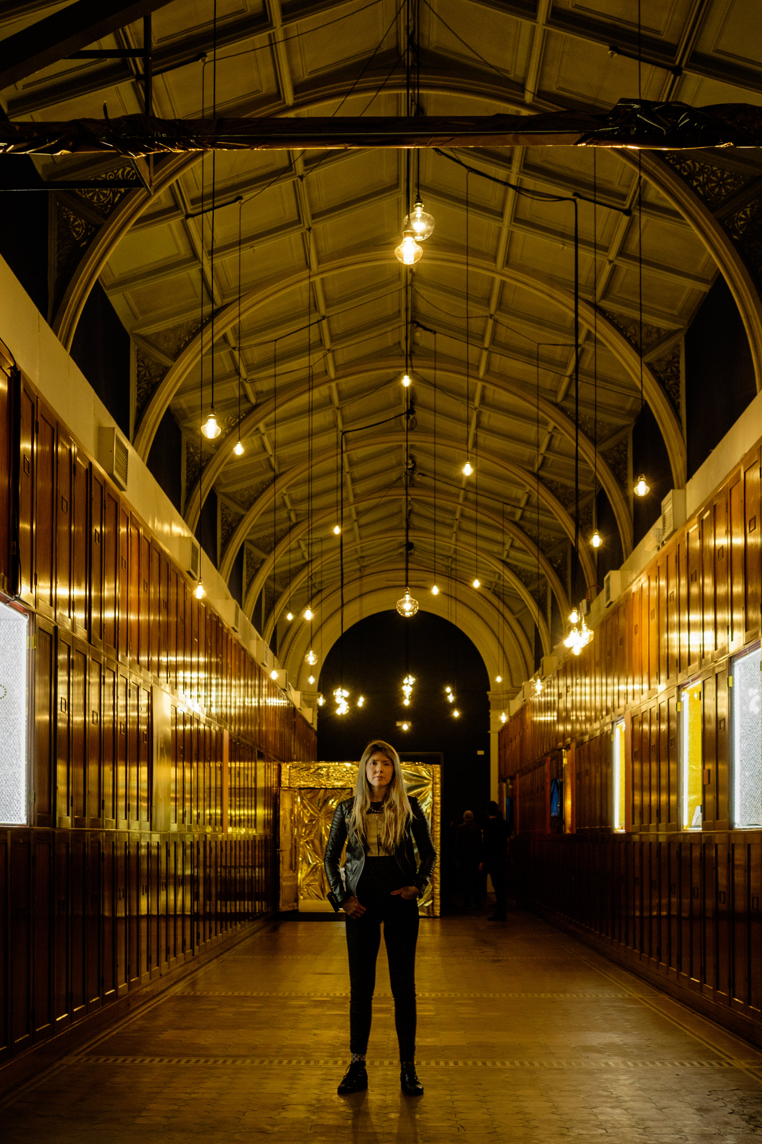 Beatie Wolfe's V&A exhibition for LDF -  Whole Gallery 1 - by Dexter Robinson .jpg