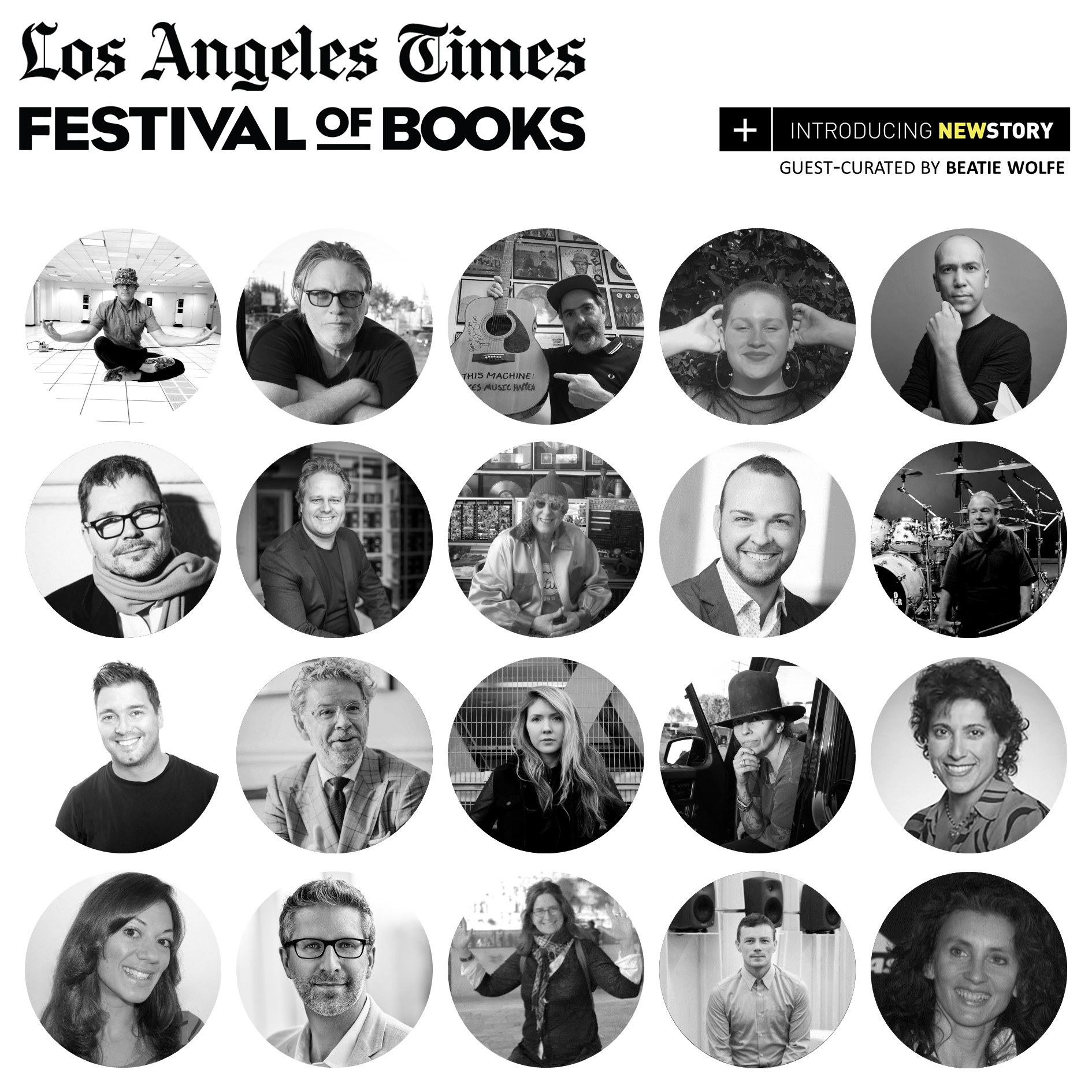 LA Times NewStory curated by Beatie Wolfe