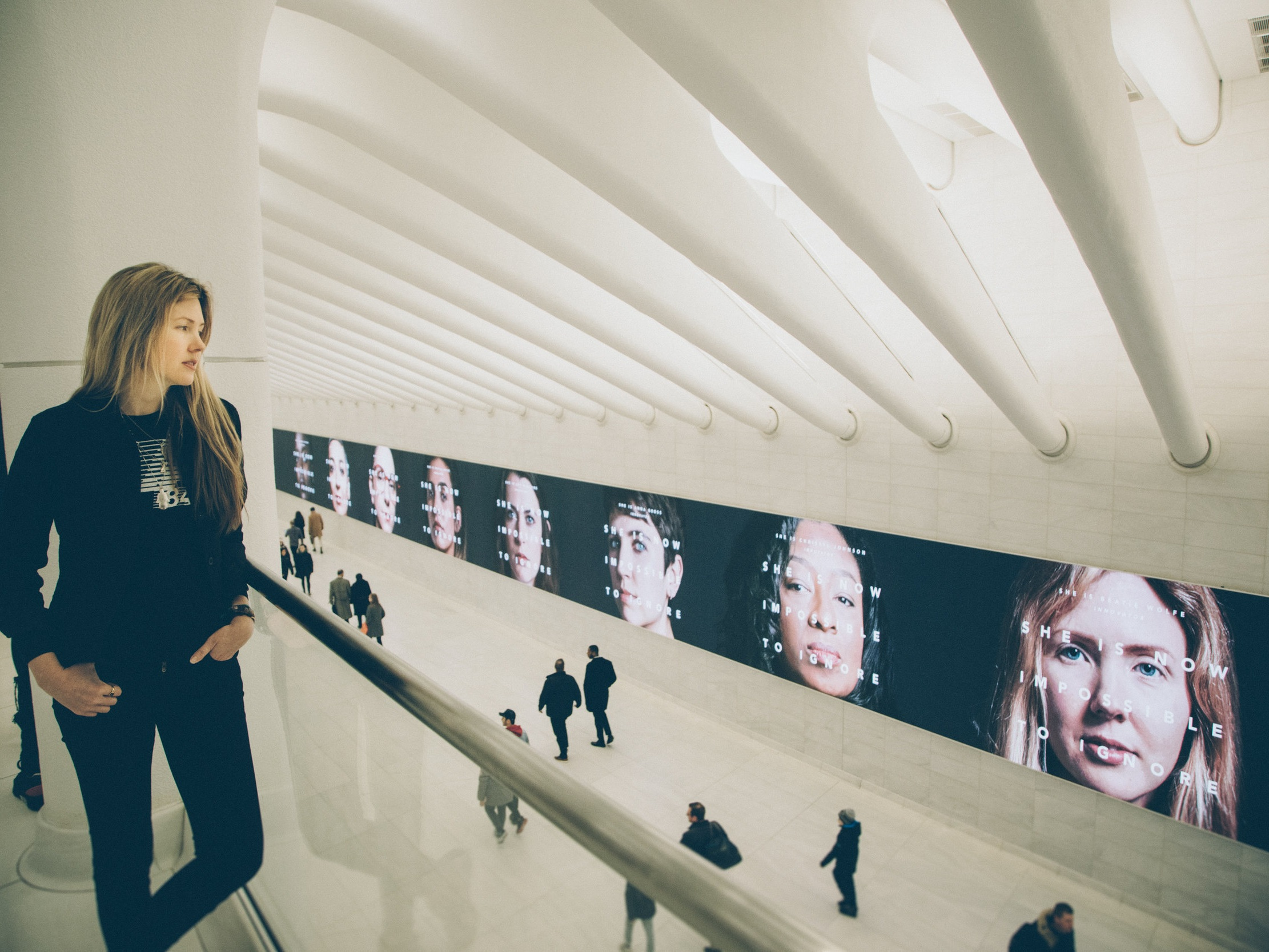 NYC World Trade Center ft Beatie Wolfe UN impossible to ignore campaign by Veanne Cao - IMG_2083.JPG