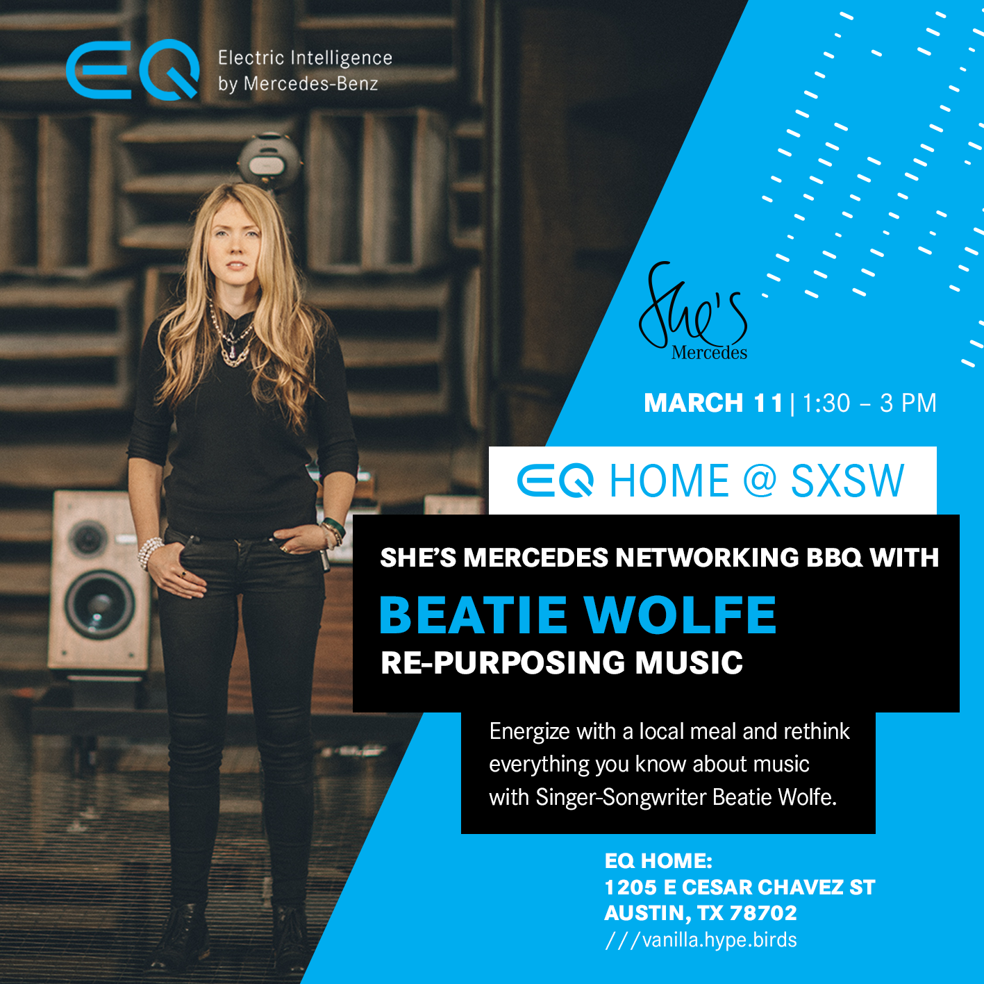 She's Mercedes Networking BBQ_Beatie Wolfe
