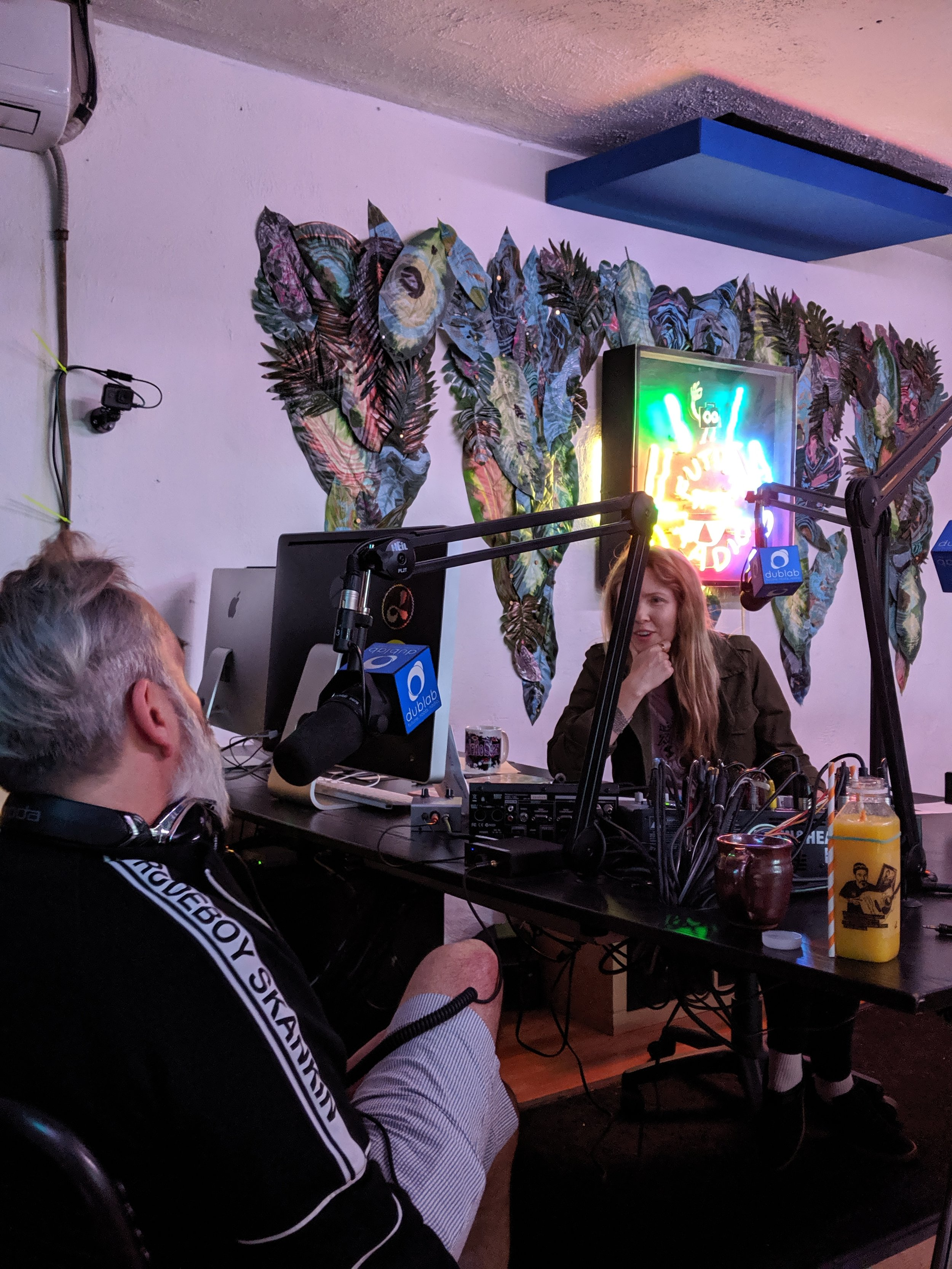 Donick Cary and Beatie Wolfe on Orange Juice for the Ears on dublab radio (13).jpg