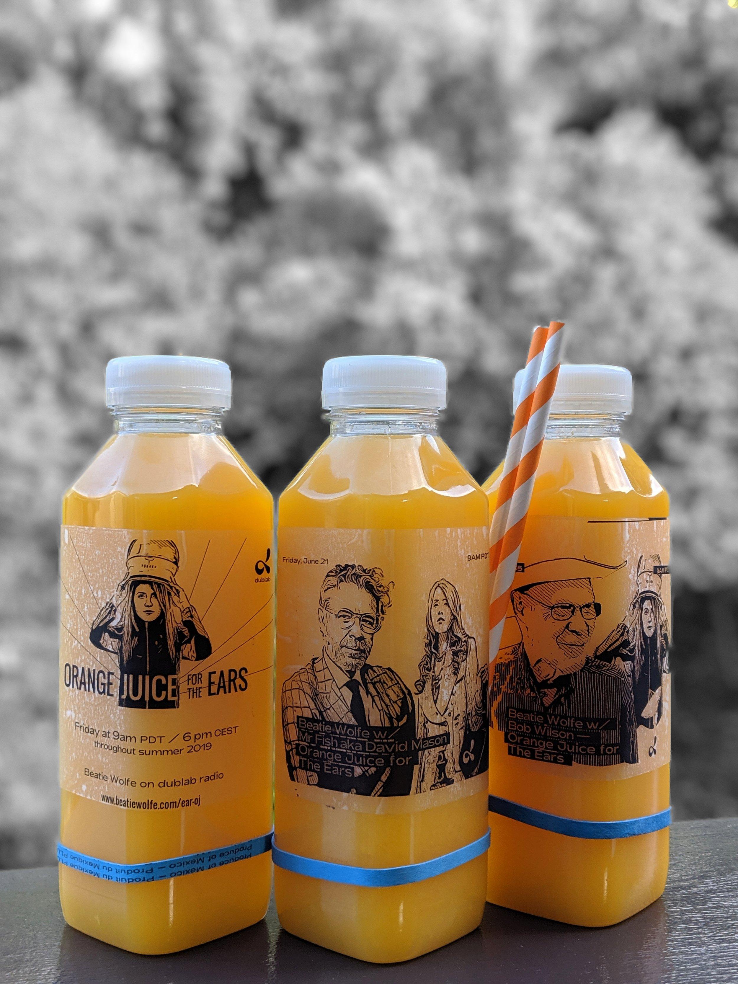 David Mason;s Orange Juice for the Ears