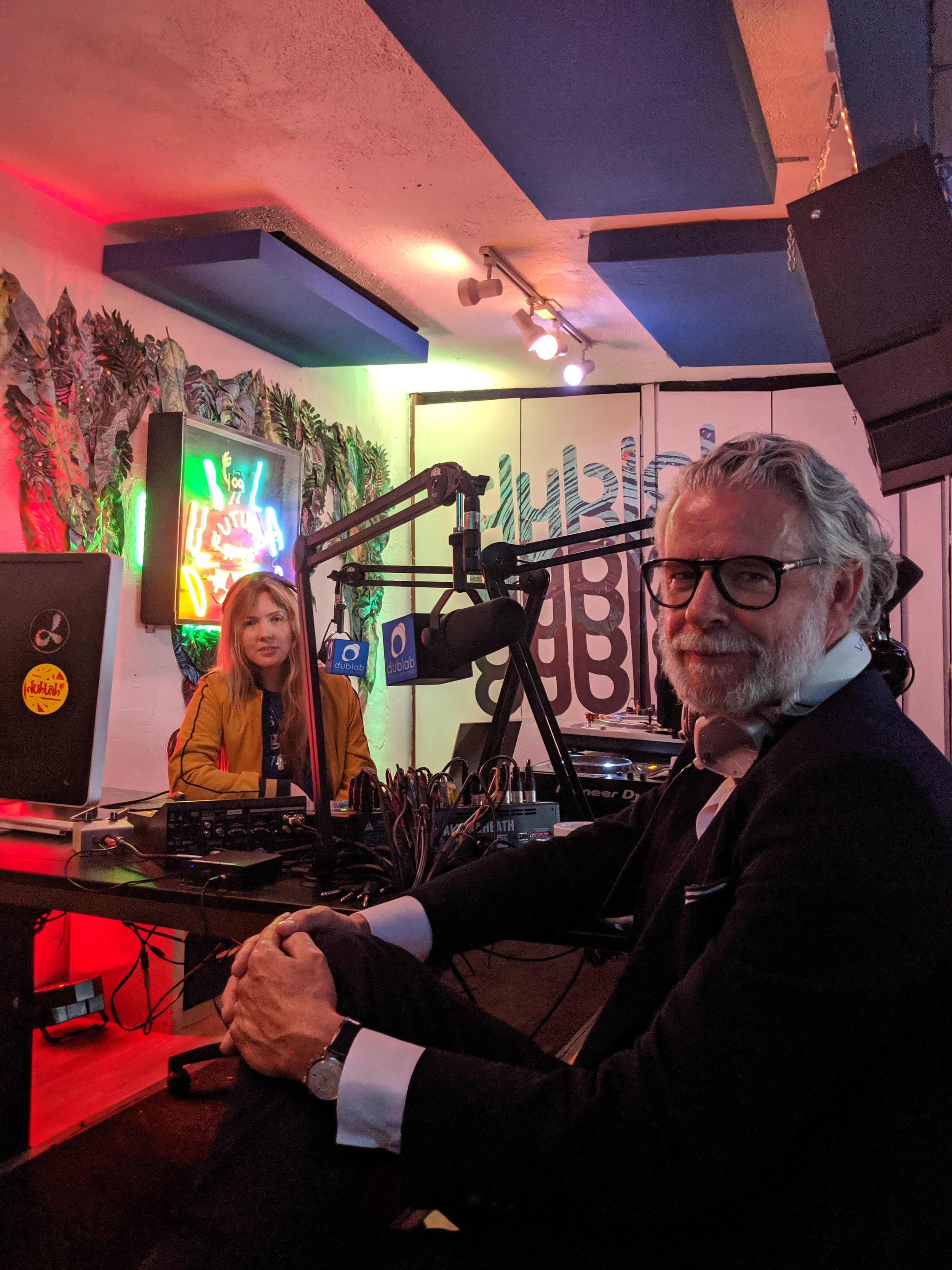 Beatie Wolfe and David Mason on LA's dublab Radio