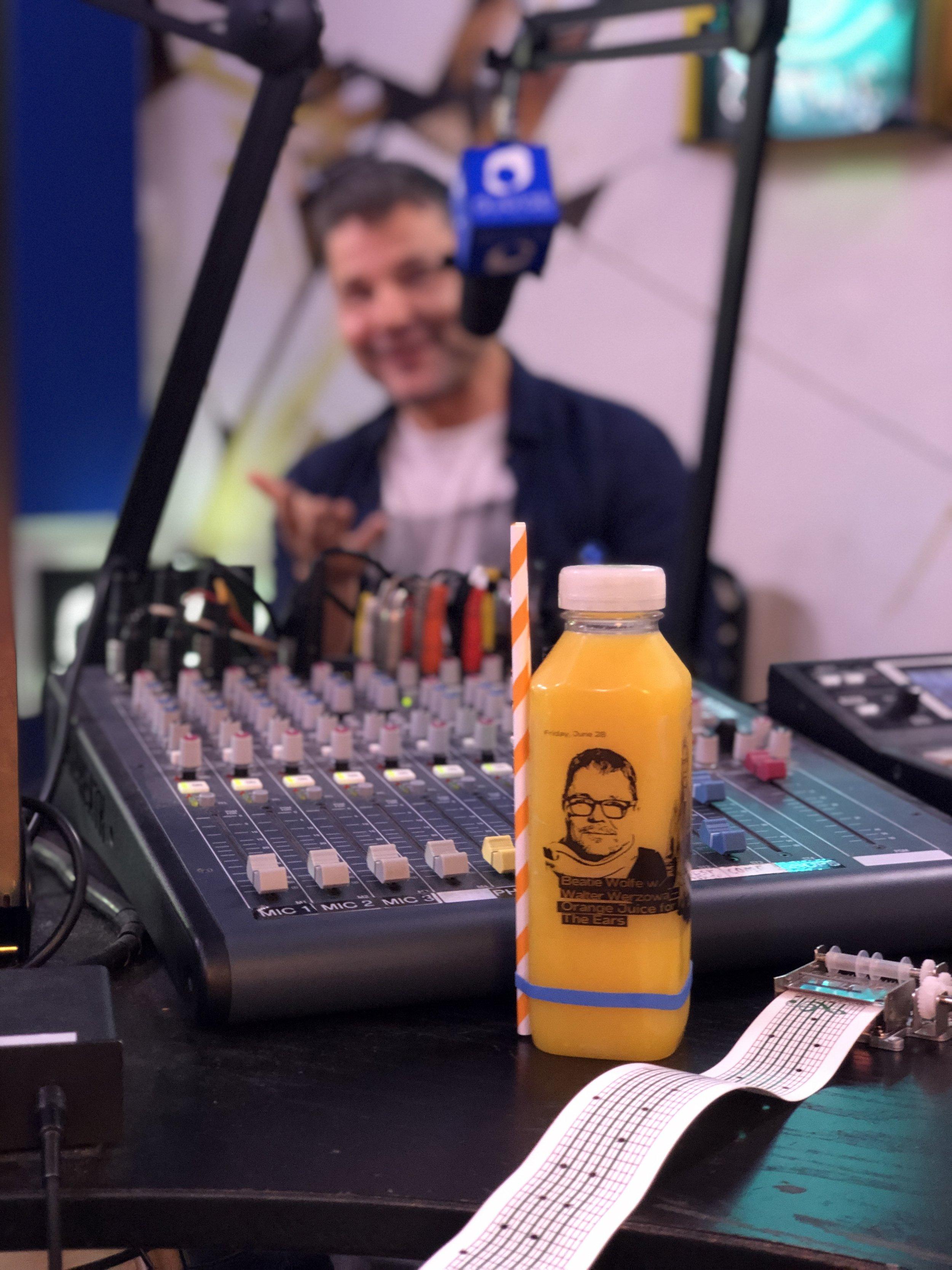 Walter Werzowa on Beatie Wolfe's dublab radio show