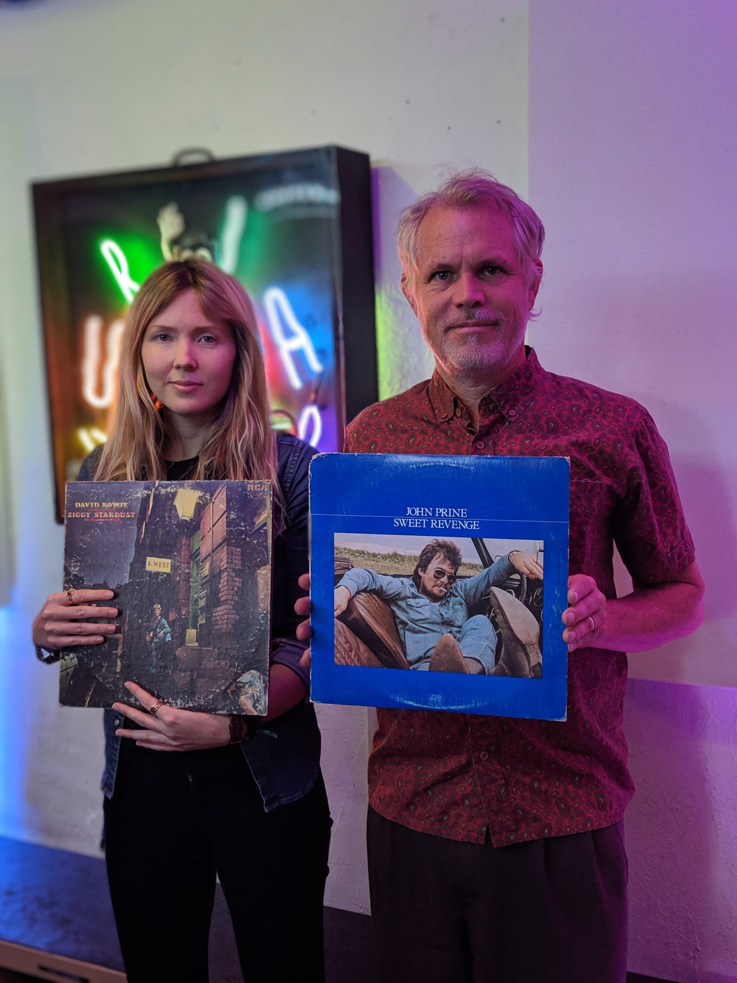 Ross Harris and Beatie Wolfe at LA's dublab radio