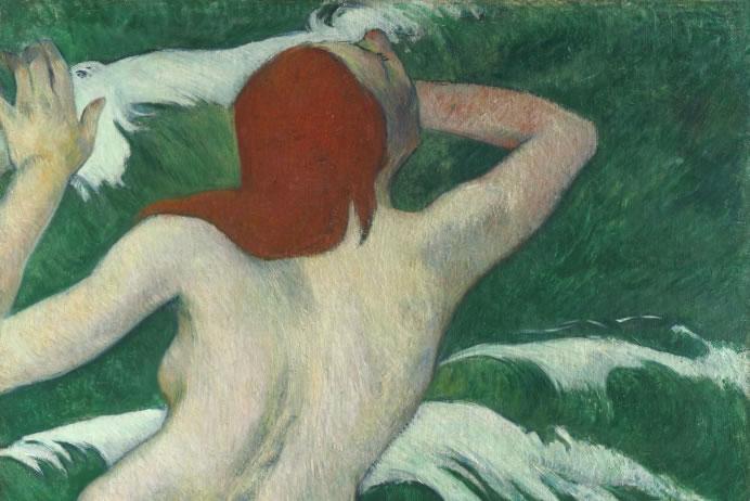 'Woman in the Waves' or 'Ondine' by Paul Gaugin, 1899