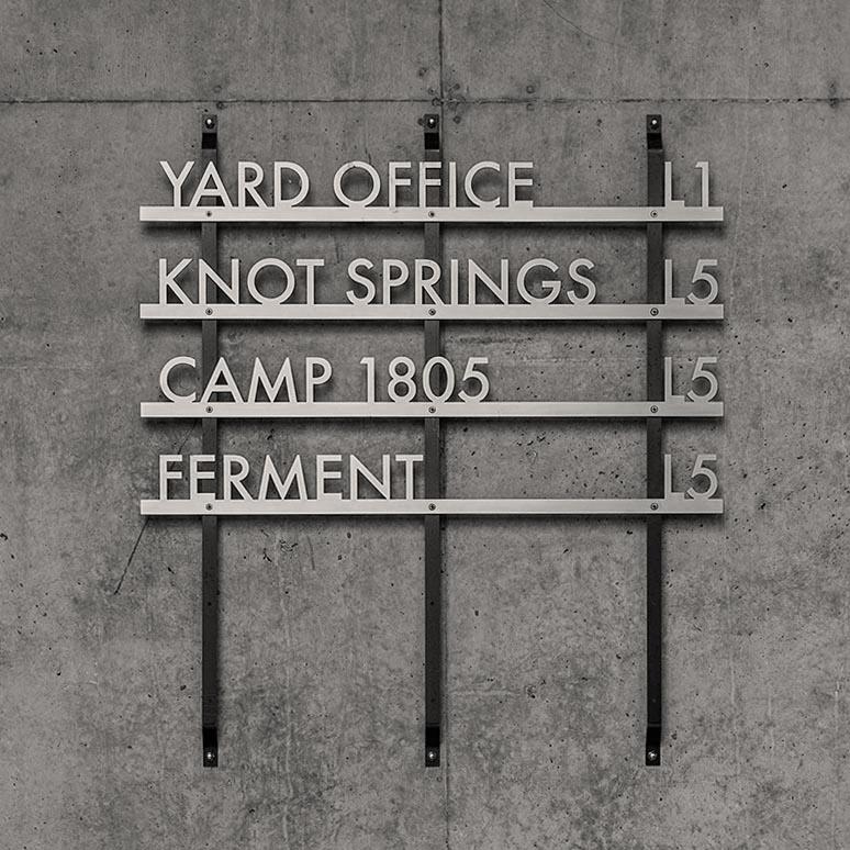 yard wayfinding