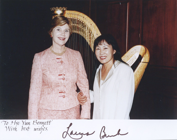 The First Lady, Laura Bush