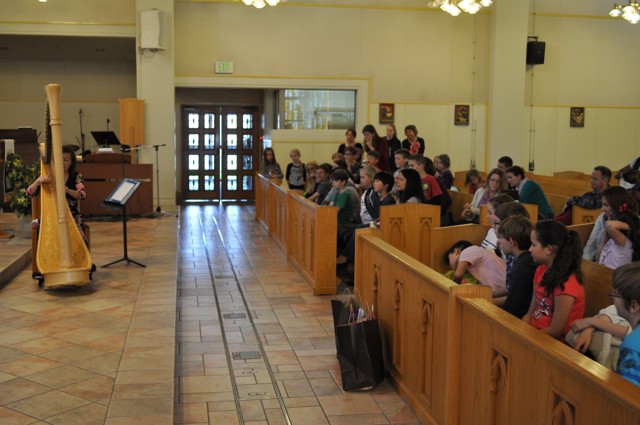 ecture Recital for American-Japanese Homeschoolers for their music class at the Chapel of Hope Church.