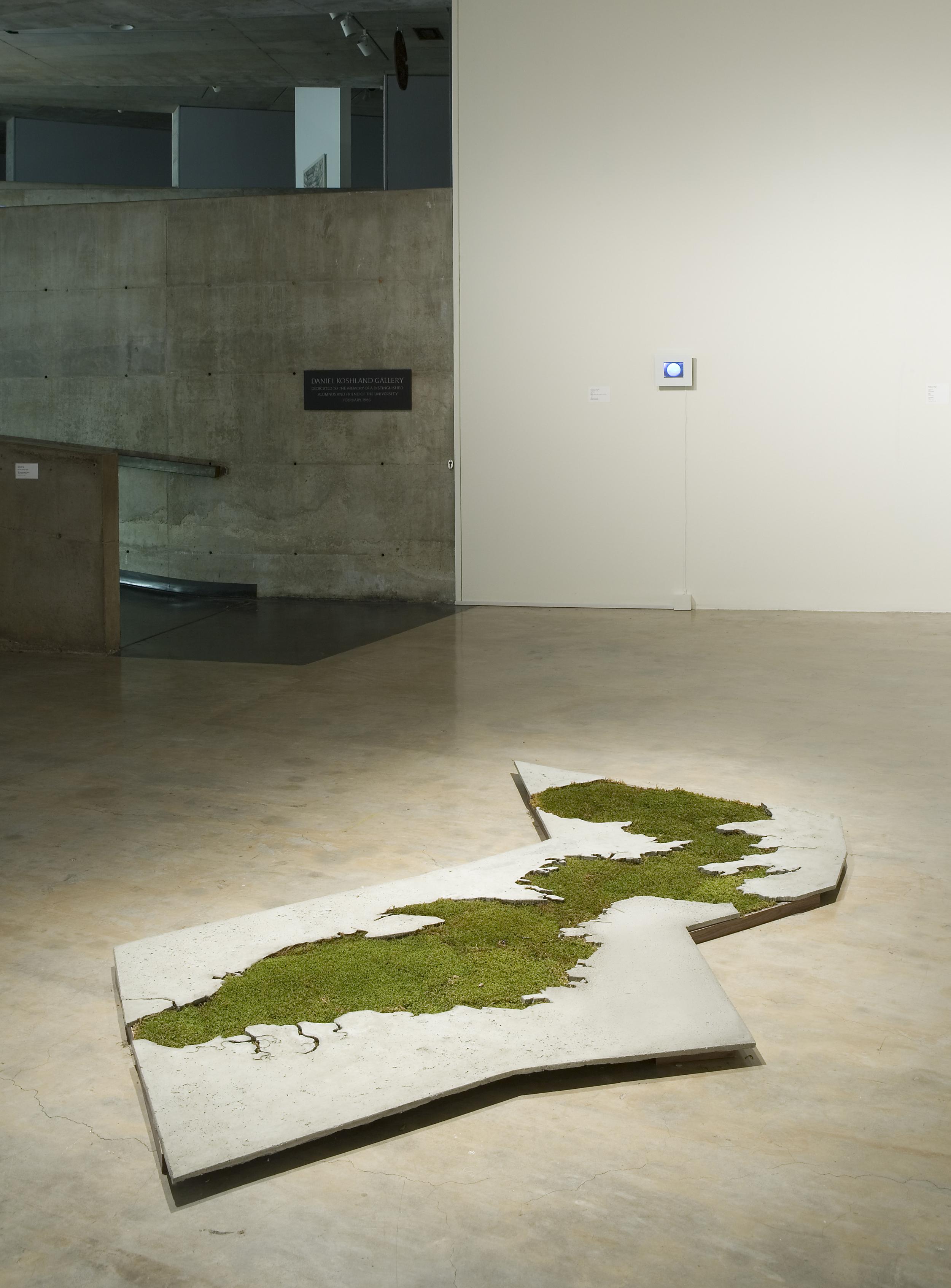 sightlines, Installation view, Berkeley Art Museum, CA, 2010.