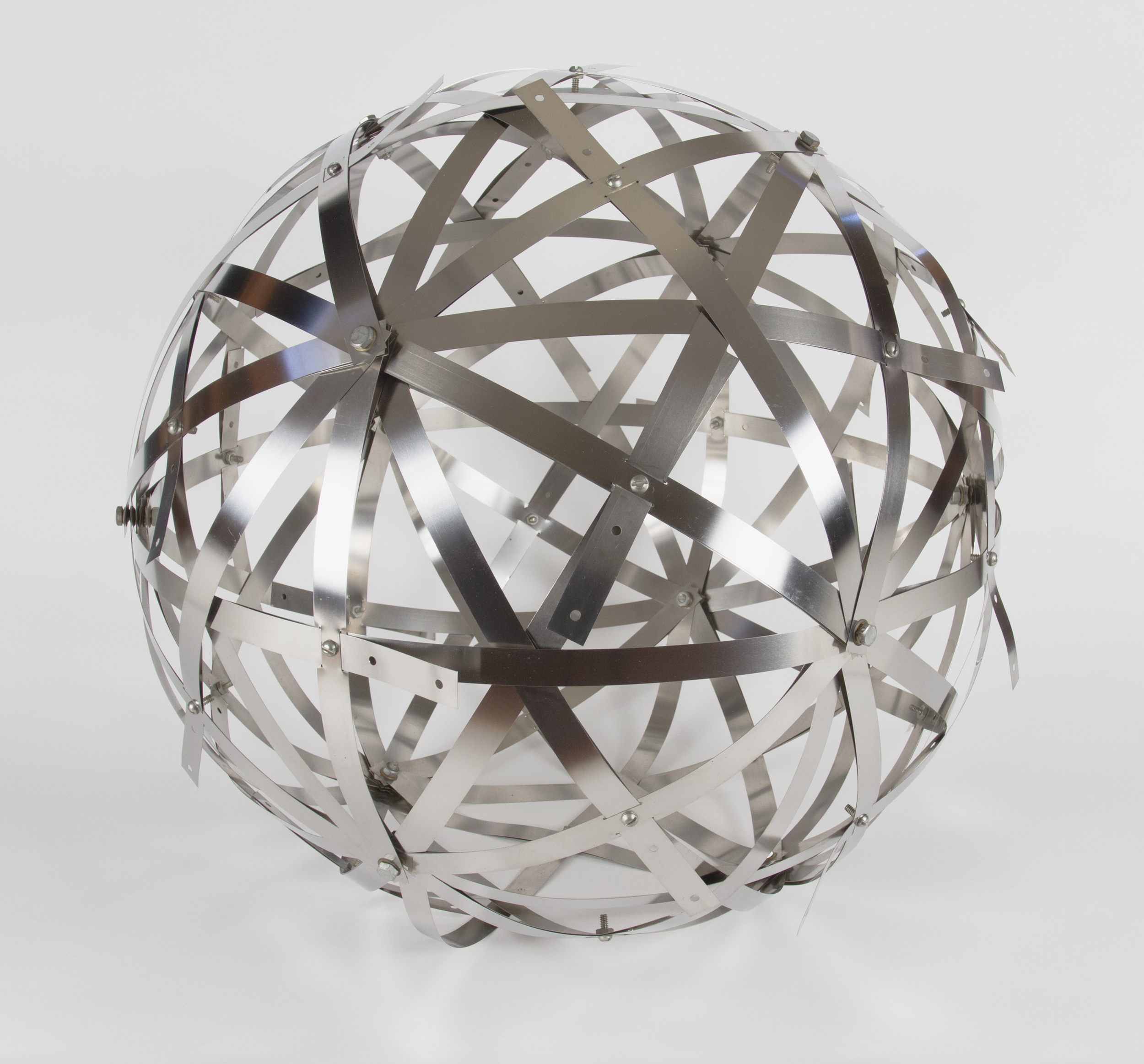 Art by Buckminster Fuller for the Boston ICA