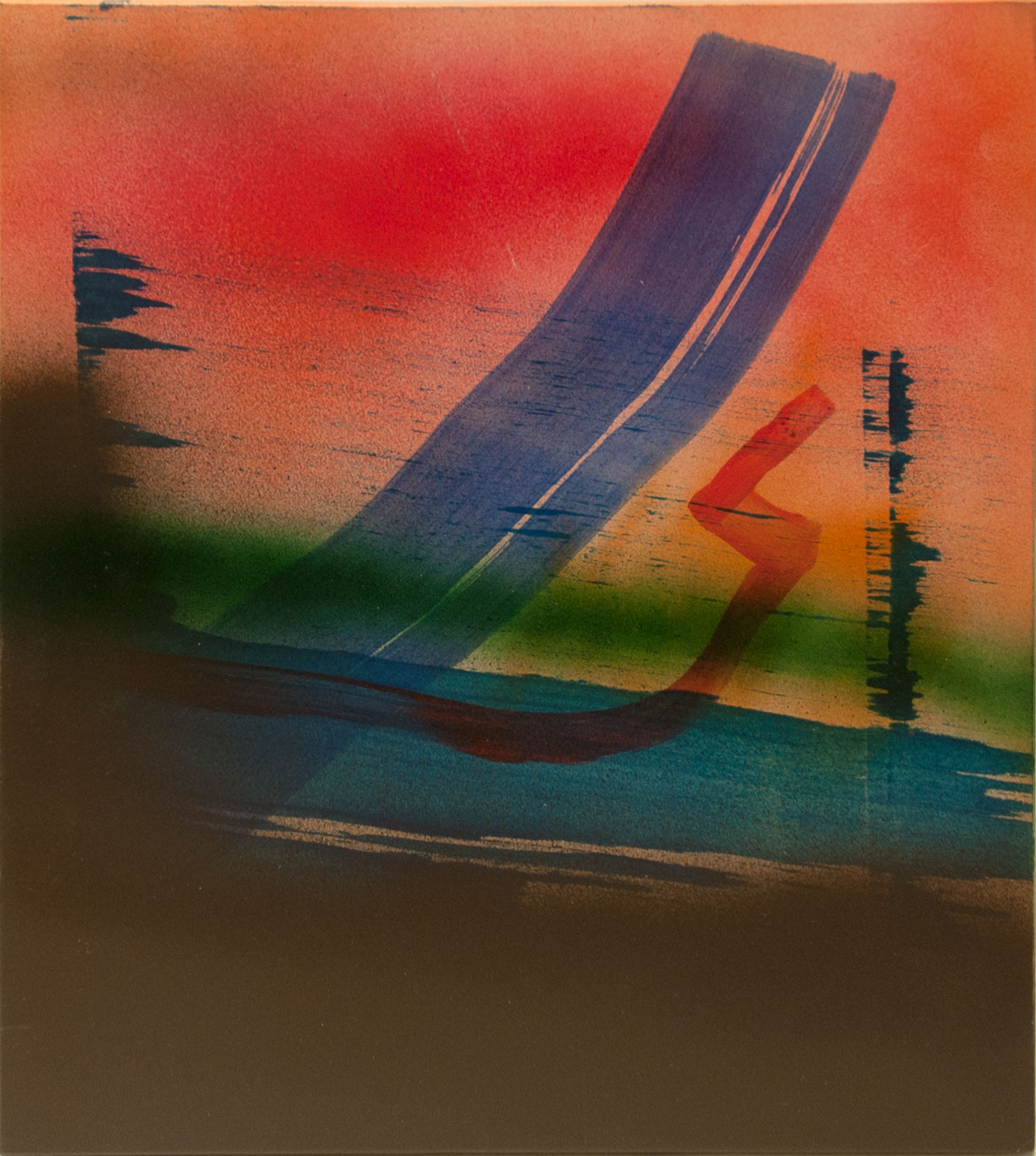 Untitled 4, 2015, acrylic on panel, 14.25 x 12