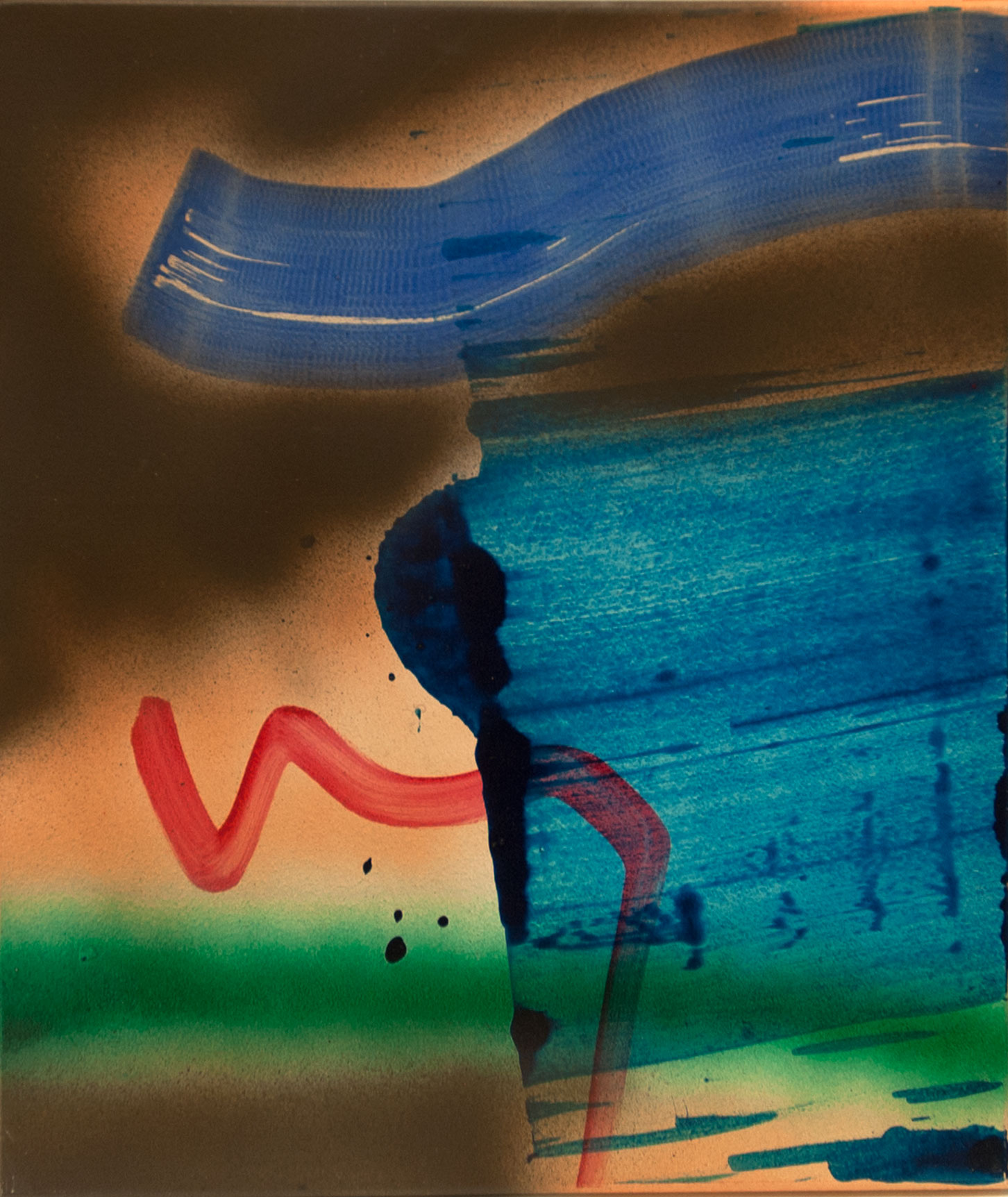 Untitled 3, 2015, acrylic on panel, 14.25 x 12,