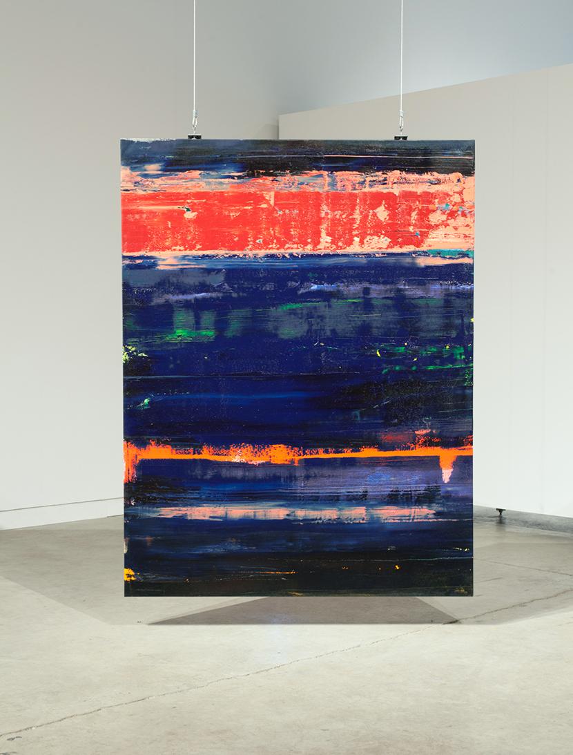 Tubes, 2015, oil on canvas, 80 x 60