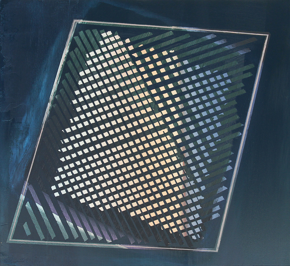 mesh, 2013, oil on canvas, 24 x 22