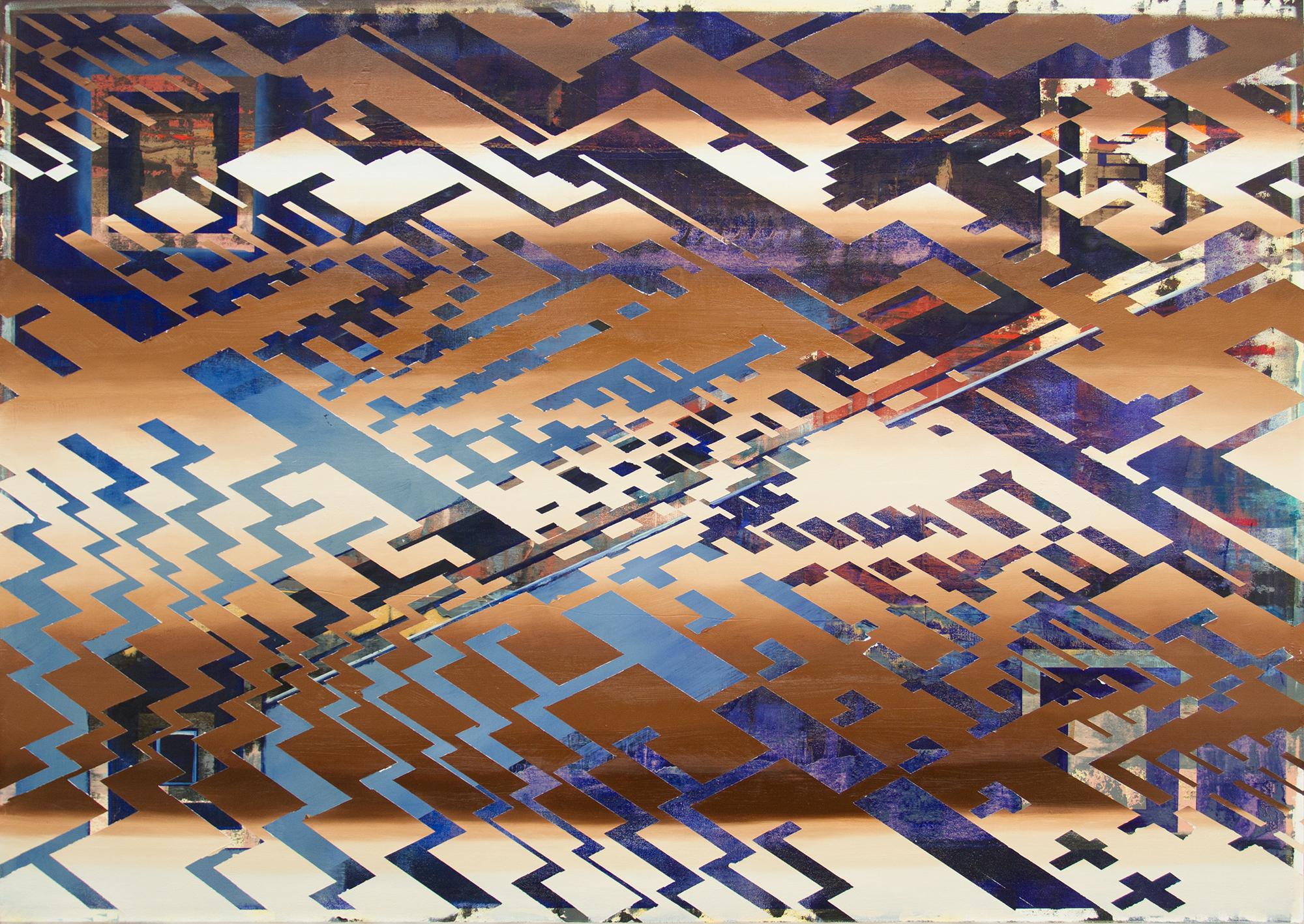 Boliviano, 2017, oil on canvas, 68 x 48