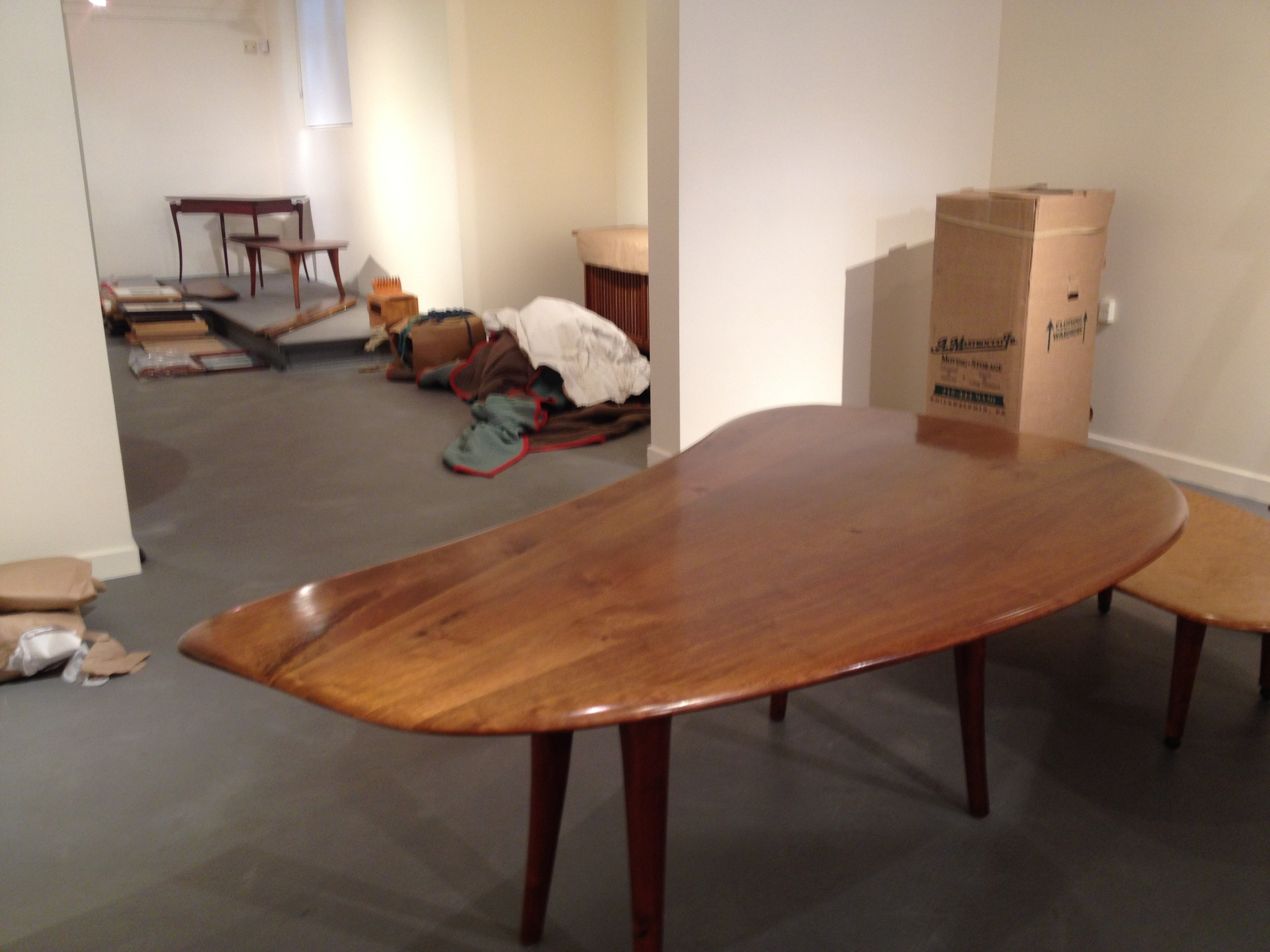Kidney Shape Esherick Table 1960's