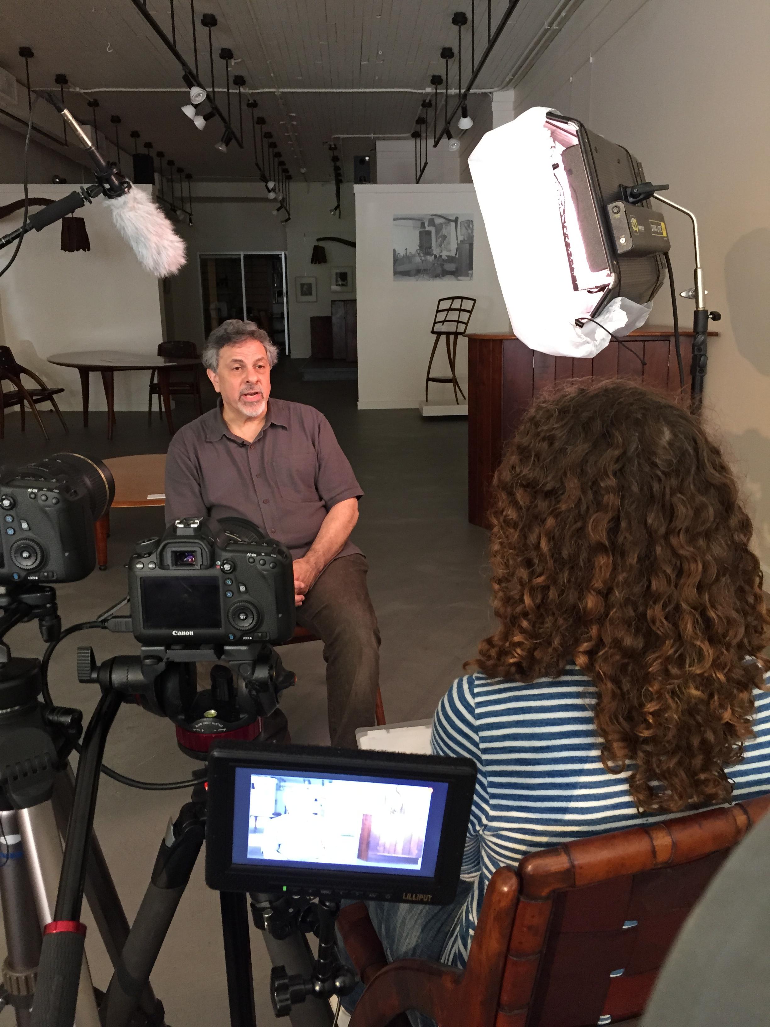 Robert Aibel Interview at Moderne Gallery