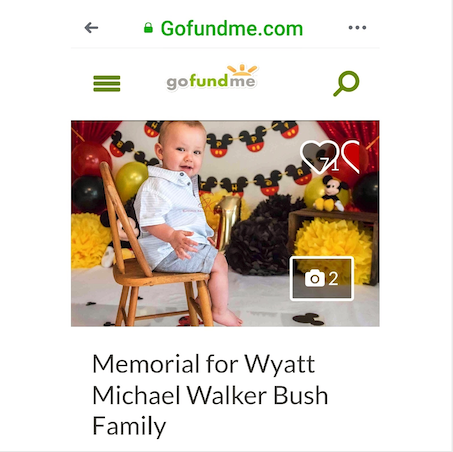 #NeverInAMillionYears did I ever think I'd be Sharing a #GoFundMe Page for one of my very close #Family members, but here we are...💔  Please donate if you can -  GO FUND ME for Wyatt   And, yes, in unexplainable times like these, there really are #NoWords... 😔  Thank You, from the bottom of my Heart, to Everyone, far and wide, who has reached out to my Lil' Brother, Bill Bush , and his Family, during this difficult time in his life... ❤️  Photo:  www.joannbush.com  / #JoAnnBush 2019 📷  #BushFamily #Indianapolis #IN #Indiana #Indy #BabyWyatt #Sluggo #LilSluggo #LilBabyWyatt #Give #GiveBack #Memorial