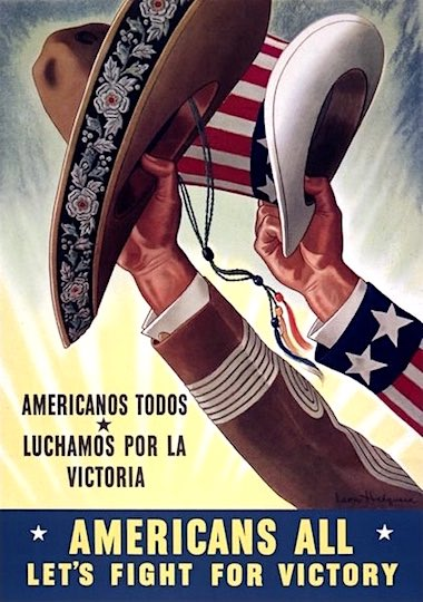 1943, by Leon Helguera, for United States Office of War Information