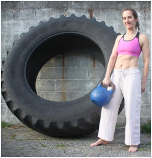 Beth Goldstein-Huxen - A former competitive natural bodybuilder and personal trainer, Beth is also one of the owner/operators of Osagame. She has a long history in personal training; 5 years ago she expanded to teaching Kettlebell classes as well.A Math teacher by Profession, Beth is a Brown Belt (Sankyu) in Judo and a Blue Belt in Jiu-Jitsu. She competes in BJJ and in Judo Kata.