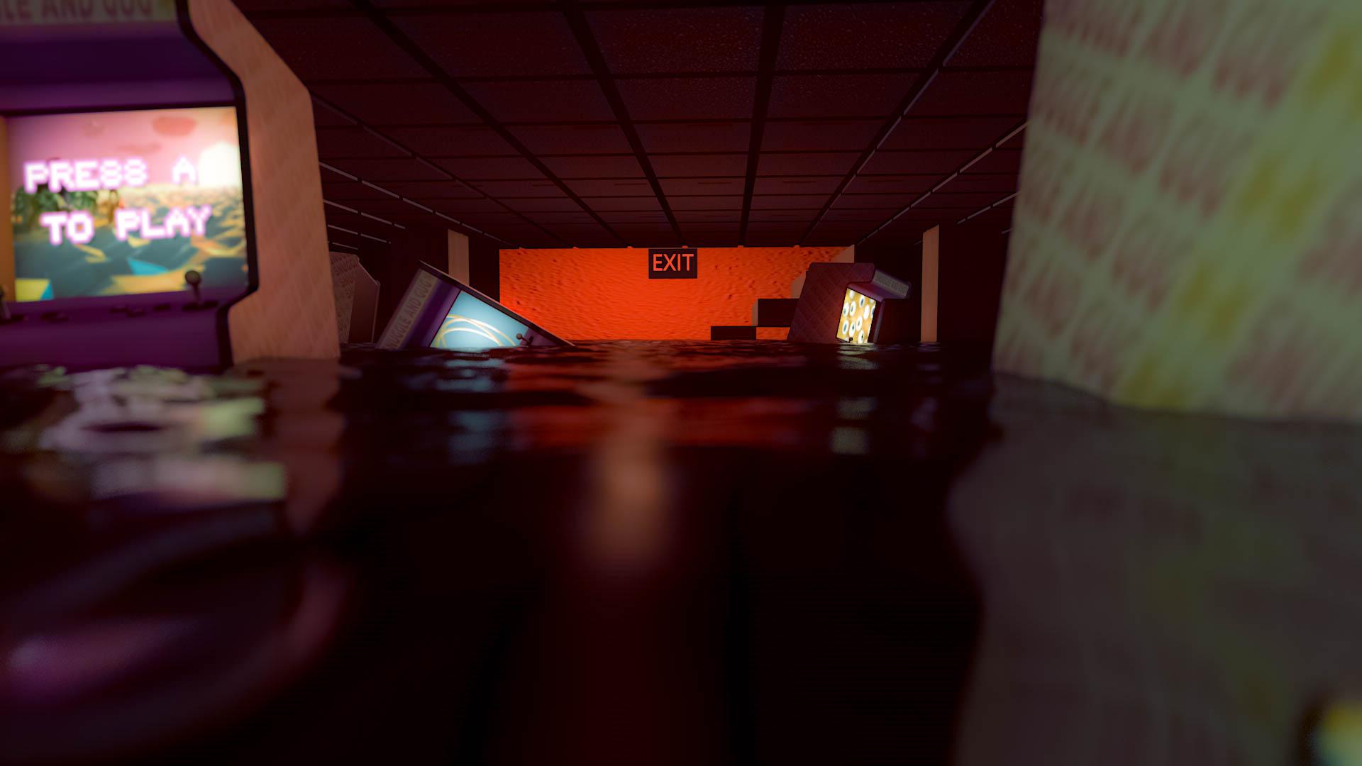Scenes From My Dreams: Sunken Arcade
