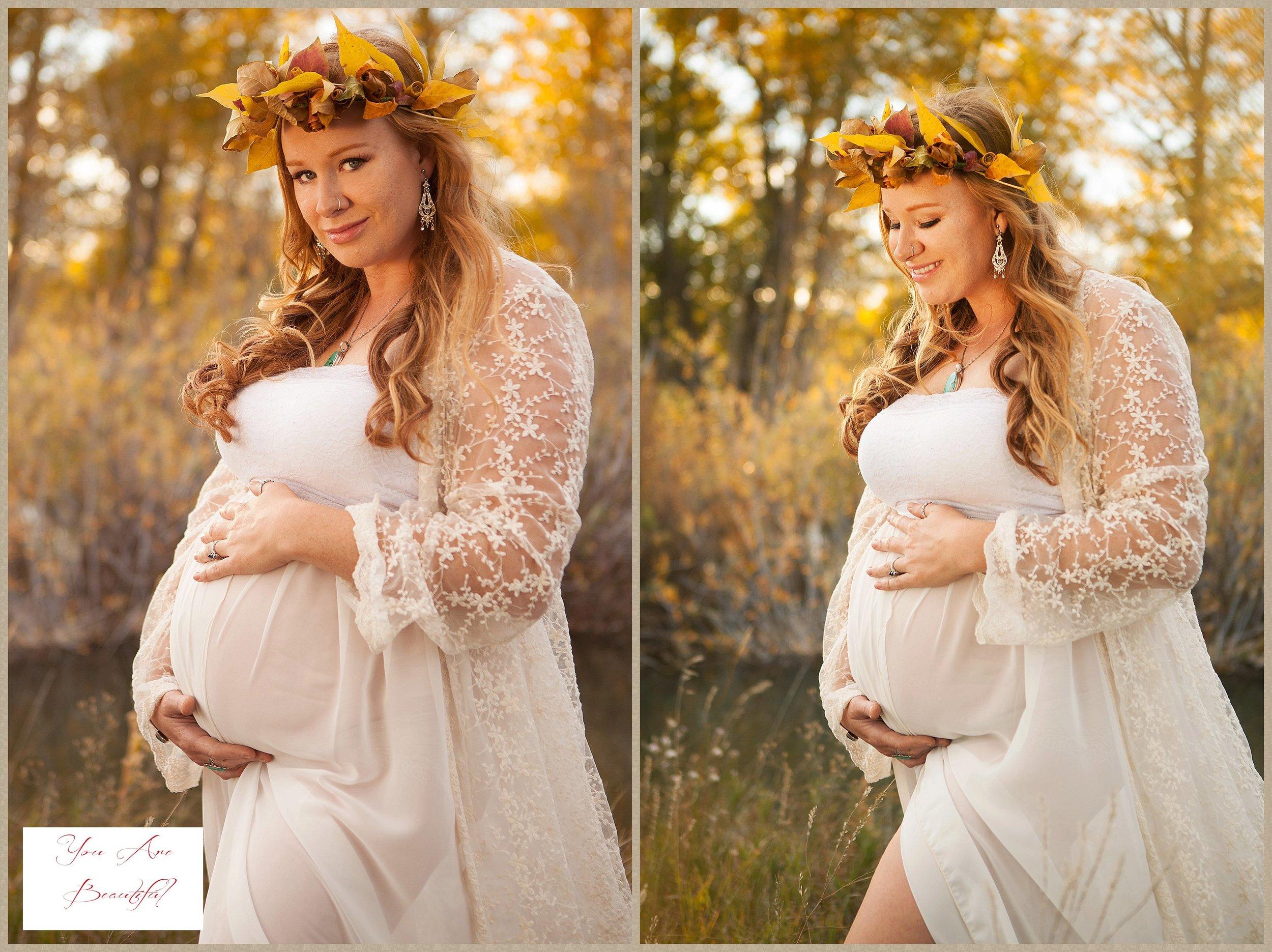 Amy's beautiful maternity glamour portraits.