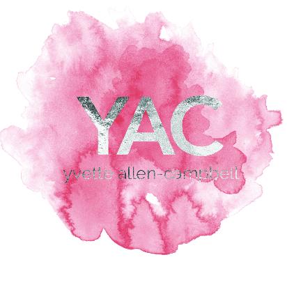 Yvette Allen-Campbell - website x business card x logo