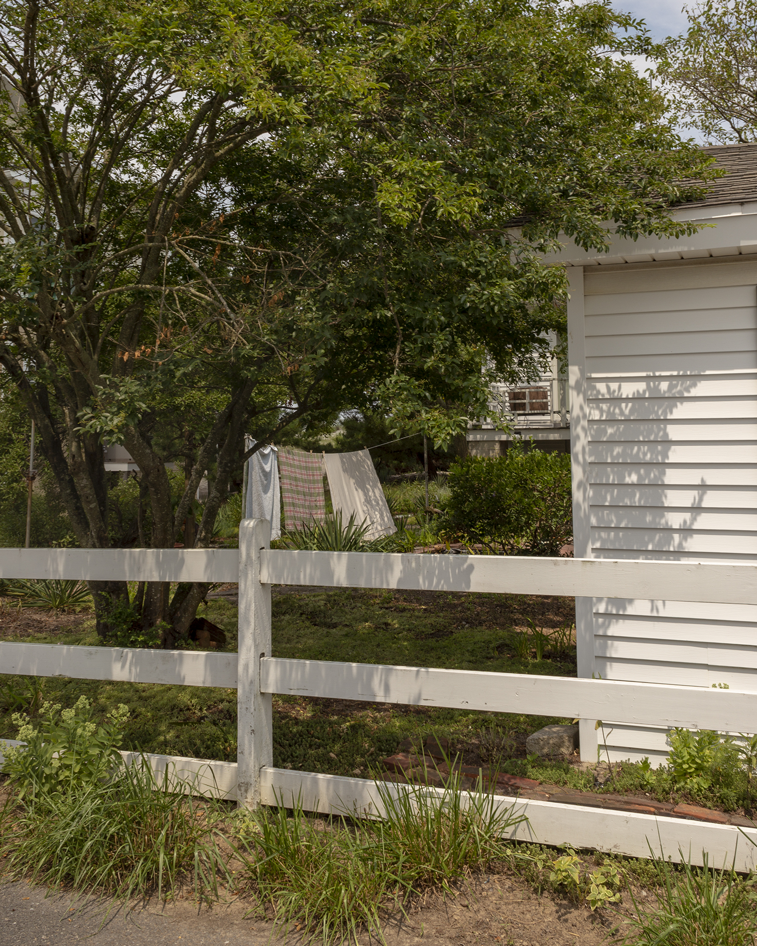 laundry by the lewes shore, Delaware, 2018
