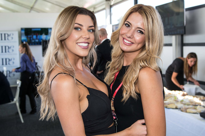 IPE Hostesses – Hailey & Lauren
