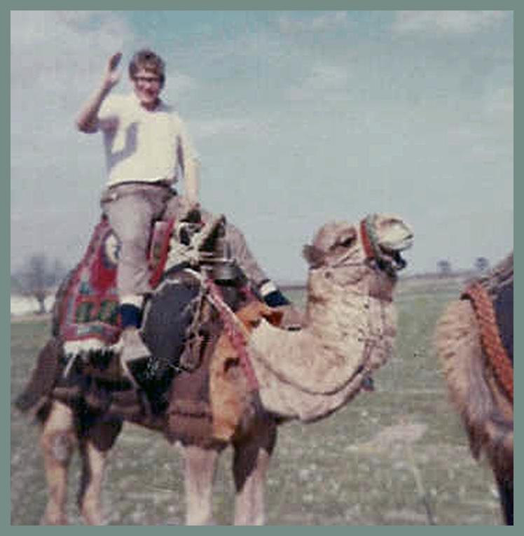 Tim, age 17, somewhere in Turkey, 1969.