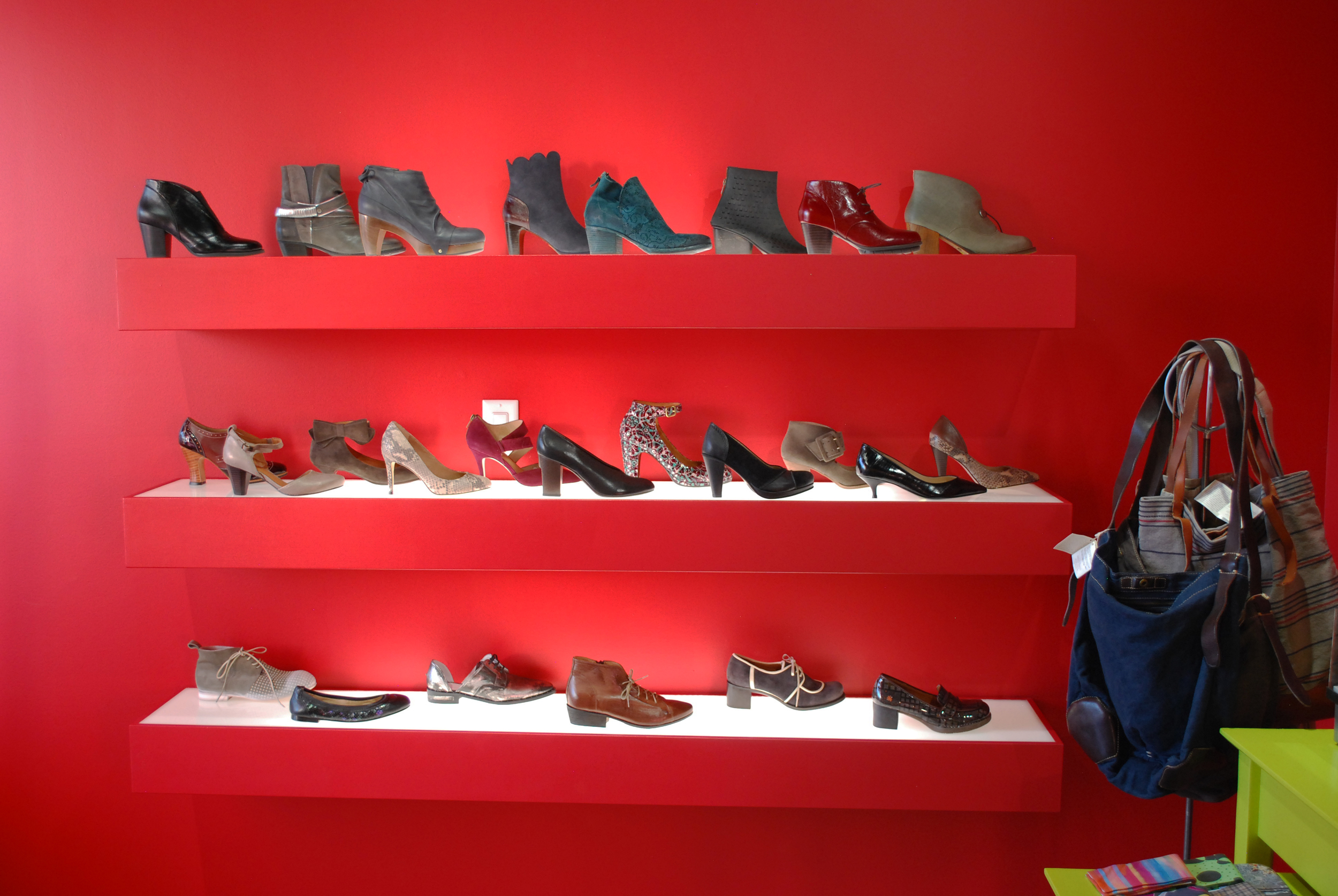 A small sampling of our shoes