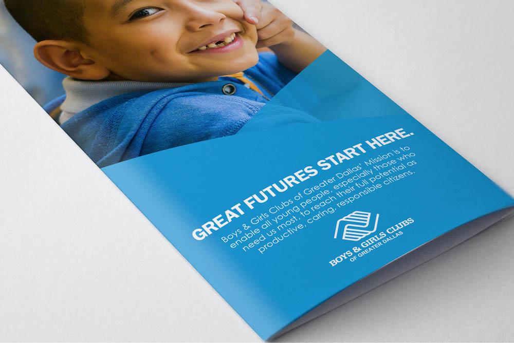 Boys & Girls Club   Marketing Design