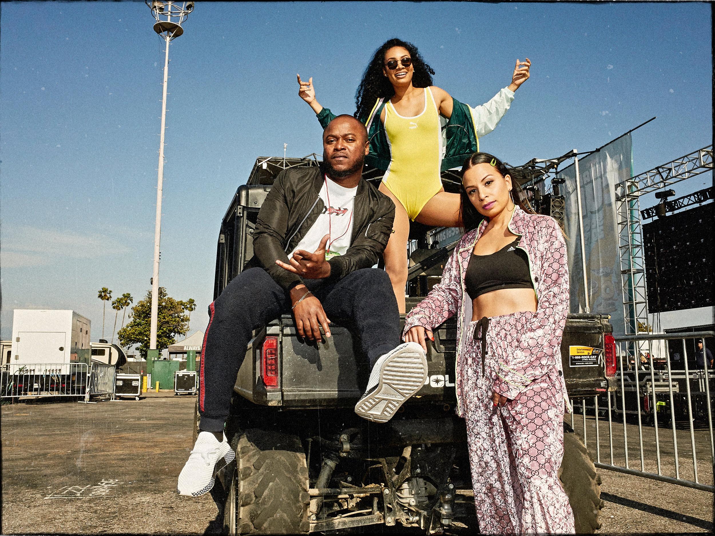 Izy, Timeka Marshall & Jasmine Solano