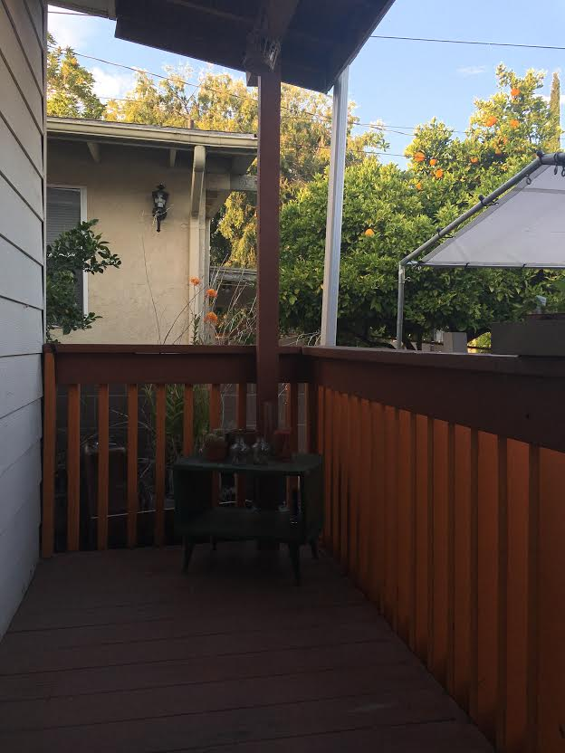 The porch, before.